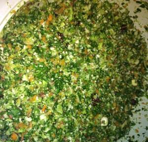 Detox Salad, Kale, NH Maple Syrup