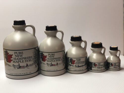 Maple Syrup Plastic jugs