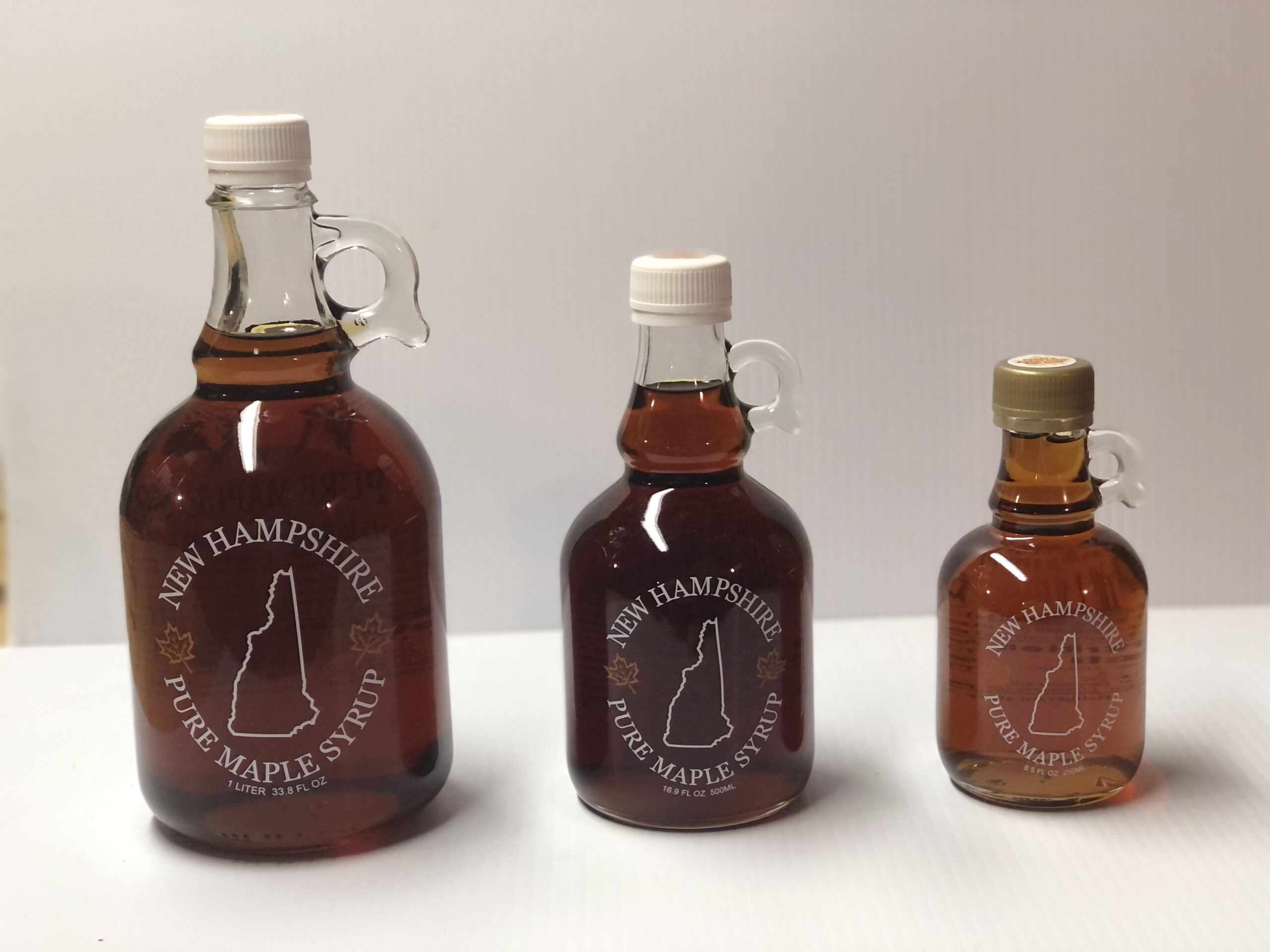 Maple Syrup Glass Gallone